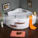 China bathtub manufacturer air bubble massager, modern acrylic freestanding bath, air jet pool