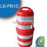 Traffic Safety Plastic Channelizer Drum/ 1100mm Water Filled Traffic Road Barrier
