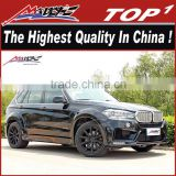 New body kits for BMW X5 F15 body kits LM style for 2015 BMW X5 body kit BMWF15 body kit