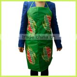 promotion Gift Water Resistant Apron Long Cotton Apron Fastion Cotton Apron Non Woven Apron