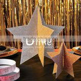 3feet by 1.6feet metallic foil curtain Silver Curtain Metallic Foil Curtain wedding background decoration
