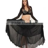 SWEGAL SGBDS13018 1colors 2013 Wholesale fashion black belly dance sikrt dress