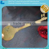 Rose Gloden Custom Key Shaped Metal Gifts