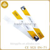 Factory wholesale customized tyvek paper wristband / id paper bracelet