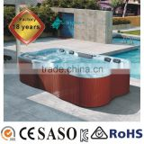 8 persons swimming pool hot tub combo/outdoor SPA bathtub 3850X2105X950mm