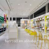 Chinese supplier pharmacy lighting display store furniture design medical store counter design