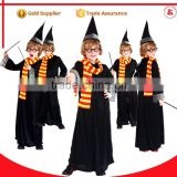 halloween carnival cosplay party children fancy dress plus size harry potter costume for boys