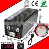 1500W 24VDC-220VAC pure sine wave inverter UPS power supply inverter AC charge home inverter