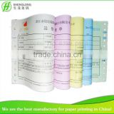 (PHOTO) 5 pages color paper numbering logo landing order