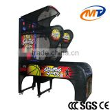 Funny and exciting shooting ball / basketball arcade game machine for kids with high quality