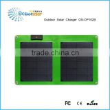 Custom Design 10W Monocrystalline solar charger solar panels for RV china factory direct sale