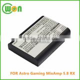 Brand new replacement battery for Astro Gaming MixAmp 5.8 RX headset battery 3.7V 1800mAh