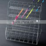 custom luxury acrylic display stand,cosmetic display,jewelry display,pen holder