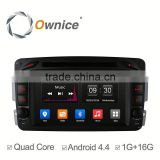 Ownice Android 4.4 quad core For Mercedes benz car headrest DVD video monitor support OBD 16G rom
