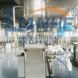 Vertical cream heating filling machine, cosmetic filling equipment for lotion,jar filling machine for cosmetics