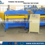 High Speed Full Automatic Corrugated Roof Roll Forming Machine / Glazed Tile Roll Forming Machine