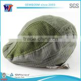 2015 wholesale cotton ivy cap cheap custom men's beret hat