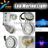Excellent White BLUE Red Color Stainless Steel LED Underwater Fishing Light/Underwater Boat Lights IP68