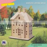 Hot selling Wooden Kids Dollhouse Set Country Mansion