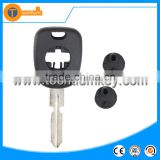 4 track blade truck van transponder key blank case shell with logo for Mercedes Benz W140