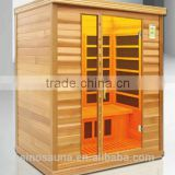Europe Design Low EMF Carbon Infrared Wood Sauna with FSC Wood for Family Health Care(CE/RoHS)