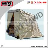 China 4x4 auto spare parts roof tent /4x4 car awning outdoor equipment for jimny parts