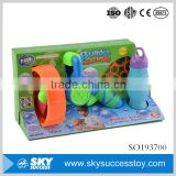 Modern style outdoor safe electric bubble shooter gun toy for kid