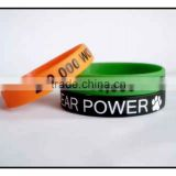 Silicone wristbands for custom