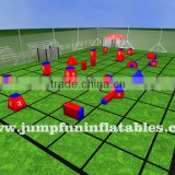 quantity custom inflatable paintball bunkers for full set