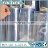 transparent normal clear pvc sheet vinyl foil film in roll for packing or mattress