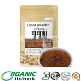 100% pure Cocoa Bean powder for beverage and cakes