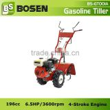 6.5HP Farm Cultivator Tiller with Rotary Hoe