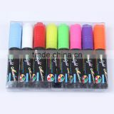 2017 Amazon hot sell Neon Color chalk marker Pens Reversible Bullet And Chisel Tip And A Brand New Revolutionary Cap