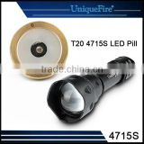UniqueFire Flashlight Accessories LED Modules Brass Pill Fit for T20 Flashlight