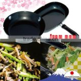 Easy to use TSUBAME iron deep frying pan with good heat efficiency