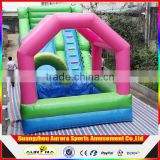 Inflatable slide jump bed fort naughty fort baby cushion bed