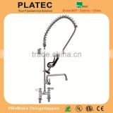 Stainless Steel Die Casting Pre Rinse Ceramic Kitchen Accessories