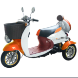 500W Commercial reliable 3 wheel electric disabled scooter,electric tricycle with front cargo