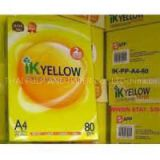 IK Yellow A4 Copy Paper Letter & Legal Sizes 80gsm 75gsm 70gsm IK Yellow brand copier papers