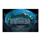 Attractive 4D 5D 6D 7D XD Movie , Arc / Ball / Globular screen 4D Theater System for Outdoor Scenic