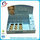 Olay cosmetic cardboard paper counter display