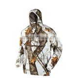 2015 White CAMO Electric Heating Jacket for hunting