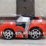 small plastic car toys/ red car toys