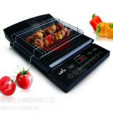 Electrical Cooker Black Suitable for stir-fried, BBQ,hotpot,and cook soup etc 4pcs/CTN