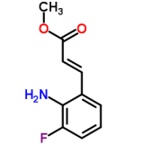 High purity of Methyl (2E)-3-(2-amino-3-fluorophenyl)acrylate (CAS690664-20-1)with best price and best service