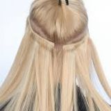 Aligned Weave Mixed Color 100% Remy 16 Inches Virgin Human Hair Weave 12 Inch