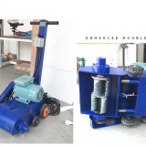 590428 120 type boat push electric descaling machine rust remover deck descaling machine oxide layer grinding machine
