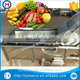 fruit and vegetables bubble washer / fruit and vegetable washing machine