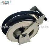 Retractable fuel delivery reel diesel fuel track hose reel for dispensing fuel