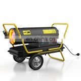 Dorosin 50KW  kerosene diesel heater with  big caster wheel